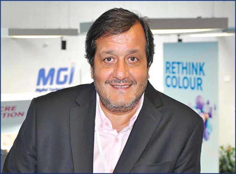 Edmond Abergel, président de MGI Digital Technology «MGI a démocratisé l'usage du vernissage 3D»