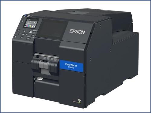 Quatre imprimantes d'étiquettes couleur