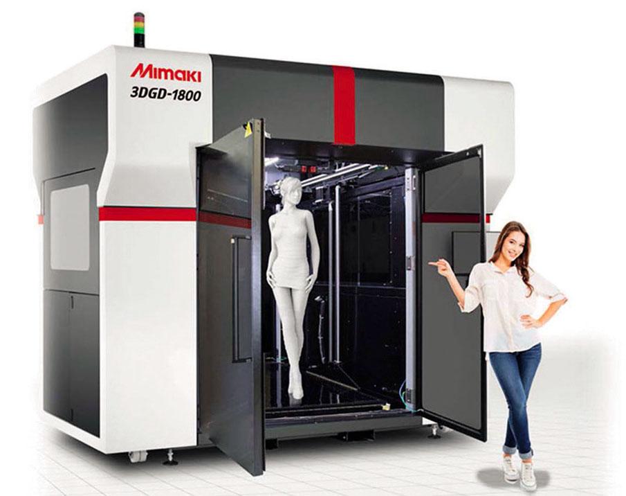 L'imprimante grand format 3D 3DGD-1800, de Mimaki.