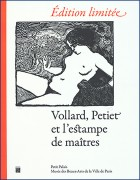 Vollard, Petiet et l'estampe de maîtres