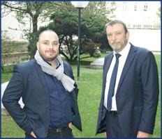 Guillaume Trias, président, et Denis Turrier, directeur général du groupe Lourmel «Poursuivre notre mission d'intérêt général.»